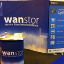 Roller Banner And Pop Up Stand For Retail Business Technology Expo 2012